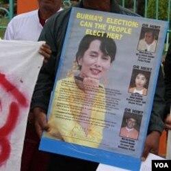 Oposisi Birma mengecam pemilu parlemen karena membatasi kebebasan calon-calon oposisi untuk berkampanye.