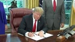 Трамп: Сакаме мигрантските семејства да бидат заедно