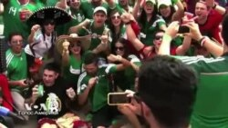 Футбольный праздник на Копакабане