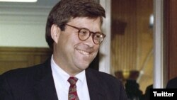 FILE - U.S. President Donald Trump says he will nominate William Barr, seen in this undated file photo, as his new attorney general.