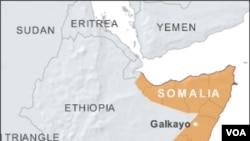 ແຜນທີ່ປະເທດໂຊມາເລຍ (Somalia)