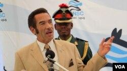 Umongameli Ian Khama weleBotswana