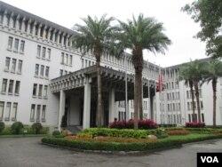 台湾外交部大楼(美国之音 张永泰拍摄)