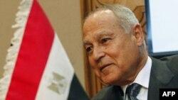 L'Egyptien Ahmed Aboul Gheit est le seul candidat au poste de secrétaire général de la Ligue arabe. (Photo d'archives, 15 décembre 2010)