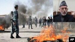 حامد کرزی خواستار آرامش مردم شد