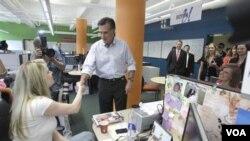 El ex gobernador Mitt Romney es el rival que más apoyo recibe entre los candidatos republicanos.