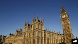 A general view shows the Houses of Parliament, in central London, May 25, 2011 (file photo)