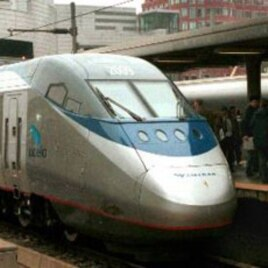 The Acela Express trains are the only true high speed trains in America.