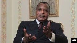 Presiden Republik Kongo, Denis Sassou-Nguesso akan berakhir masa jabatannya tahun depan (foto: dok).
