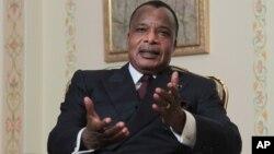 Denis Sassou-Nguesso, le président de la République du Congo