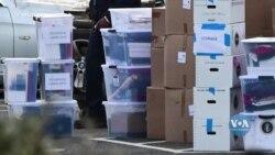 З Білого Дому та офісів президентської адміністрації почали вивозити речі, готуючись до заїзду нової адміністрації. Відео