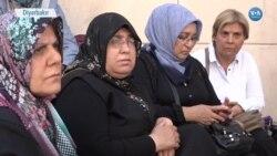 HDP'deki Eyleme Polis ve Asker Aileleri de Katıldı
