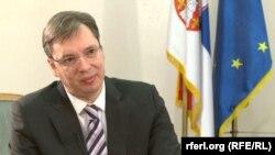 Premijer Srbije Aleksandar Vučić (slobodnaevropa.org)