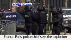 VOA60 World PM - Letter Bomb Explodes at Paris IMF Office