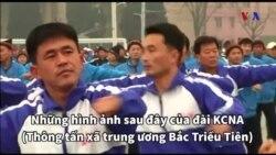 Tập thể dục cùng quan chức Bắc Triều Tiên