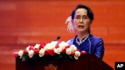 Pemerintah sipil yang dipimpin oleh peraih Nobel Aung San Suu Kyi, mengusulkan Amandemen UU Demonstrasi di Myanmar bulan lalu.