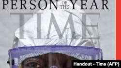 Time Magazine yawatuza wanaopambana na Ebola