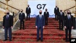 G7 စက္မႈထိပ္သီး ၇ ႏိုင္ငံ အစည္းအေ၀းကို တက္ေရာက္လာတဲ့ ၀န္ၾကီးမ်ား
