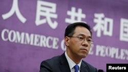 中國商務部發言人高峰資料照。