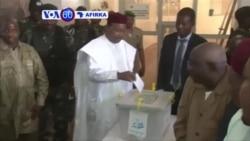 VOA60 AFIRKA: NIGER Shugaba Mahamadou Issoufou Ya Jefa Kuri'arsa a Zagaye Na Biyu, Maris 21, 2016