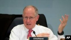 Legislador republicano por Texas, Mike Conaway. Oct. 7, 2015.