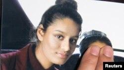 Foto remaja Inggris Shamima Begum, yang kini berusia 19 tahun (foto: dok).
