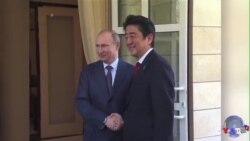 日俄关系转冷,安倍平衡乏术?