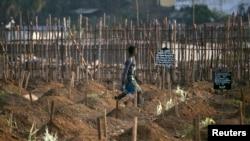 Cimetière de Freetown, 20 decembre 2014