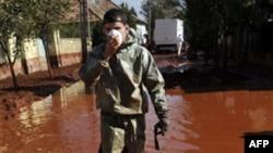В Венгрии арестован директор алюминиевого завода, допустивший разлив токсичных отходов