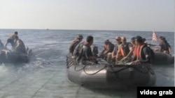 Cuộc thao dượt vớt mìn trong vùng Vịnh Ba Tư