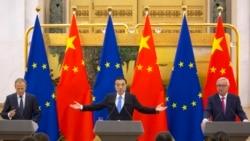 VOA: EE.UU. Unión Europea pide trabajo conjunto