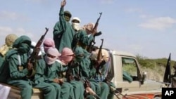 Somali insurgents Al-Shabaab
