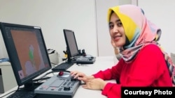Pratiwi Kusumawardani, Spacecraft Flight Dynamic Engineer atau Orbit Analyst asal Indonesia (dok: Pratiwi Kusumawardani)