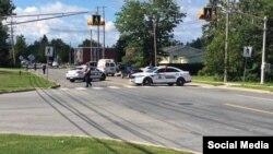 La policía de Fredericton indicó que el sospechoso está bajo custodia y que ya bajó el nivel de alerta.