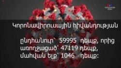 Կորոնավիրուսի վարակի տարածումը ամեն օր կրկնապատիկ ցուցանիշներ է արձանագրում