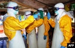 Técnicos de saúde na Guiné-Conacri