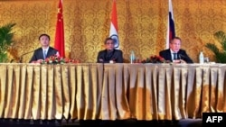 Ռուսաստանը, Չինաստանն ու Հնդկաստանը պարտավորվել են սերտացնել համագործակցությունը