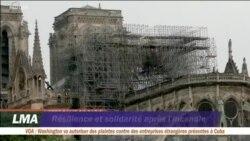 Résilience et solidarité après l'incendie de la cathédrale Notre-Dame