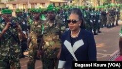 Le présidente de la Centrafrique, Catherine Samba-Panza.