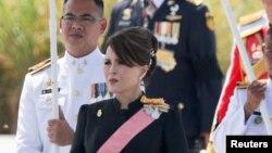 شہزادی ابل رتنا جنہیں حزبِ اختلاف کی جماعت نے وزارتِ عظمیٰ کے لیے اپنا امیدوار نامزد کیا ہے۔ (فائل فوٹو)