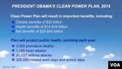 Obama's Power Plan, 2015