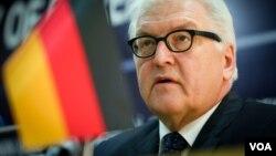 Almaniyanın xarici işlər naziri Frank-Valter Ştanmayer
