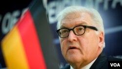 Almaniyanın xarici işlər naziri Frank-Valter Ştaynmayer