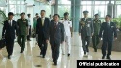 ဗုိလ္ခ်ဳပ္မႉးႀကီး မင္းေအာင္လႈိင္ ဂ်ပန္ခရီးစဥ္စတင္ (ဓါတ္ပံု-Senior General Min Aung Hlaing)