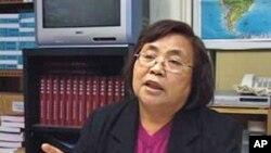 开放杂志执行编辑蔡咏梅 (资料照片)