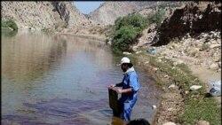 لرستان: آب آشامیدنی با مزه غلیظ نفت