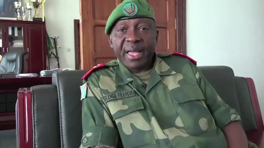 François Olenga, chef d'état-major de l'armée de terre congolaise
