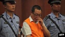 중국 산시성 전 안전감독국 국장인 양다차이가 5월 법원에서 부패혐의로 재판을 받고있다.