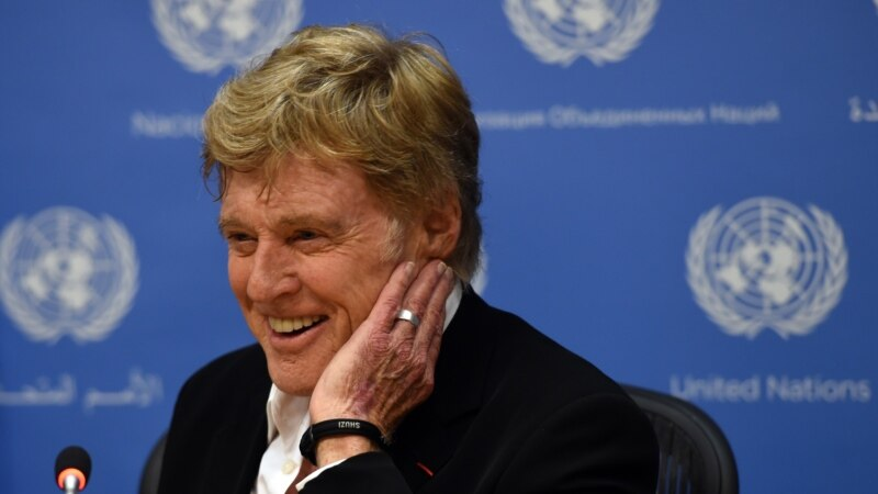 Actor Redford Urges Adoption of Climate Change Measure