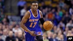 Cleanthony Early, 17 des des New York Knicks, le club NBA de la ville.